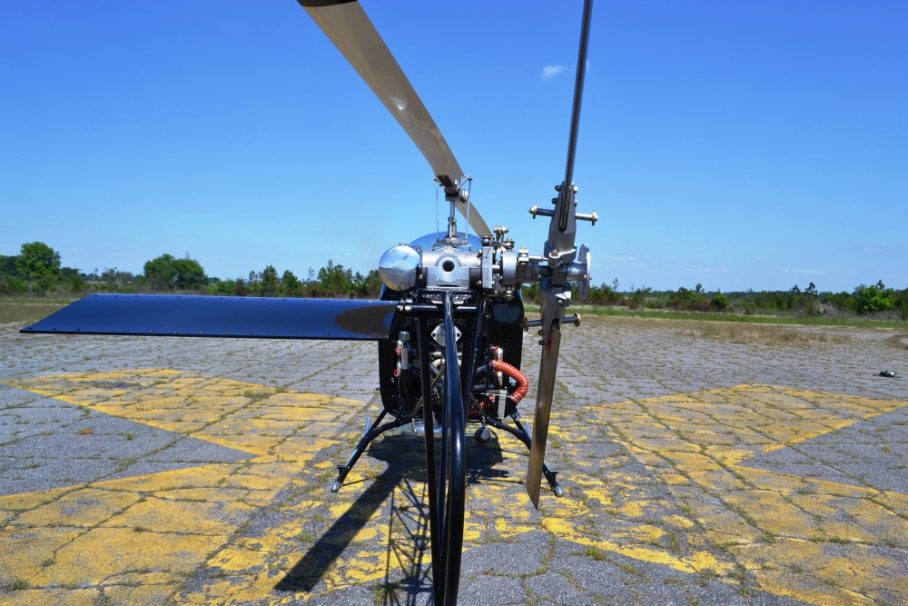 Safari Helicopter Tail Rotor